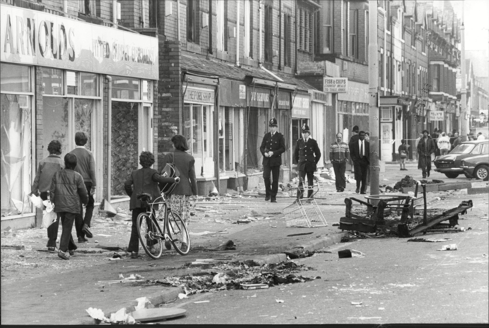 Still fighting to change system, 40 years after Manchester riots - channel 4