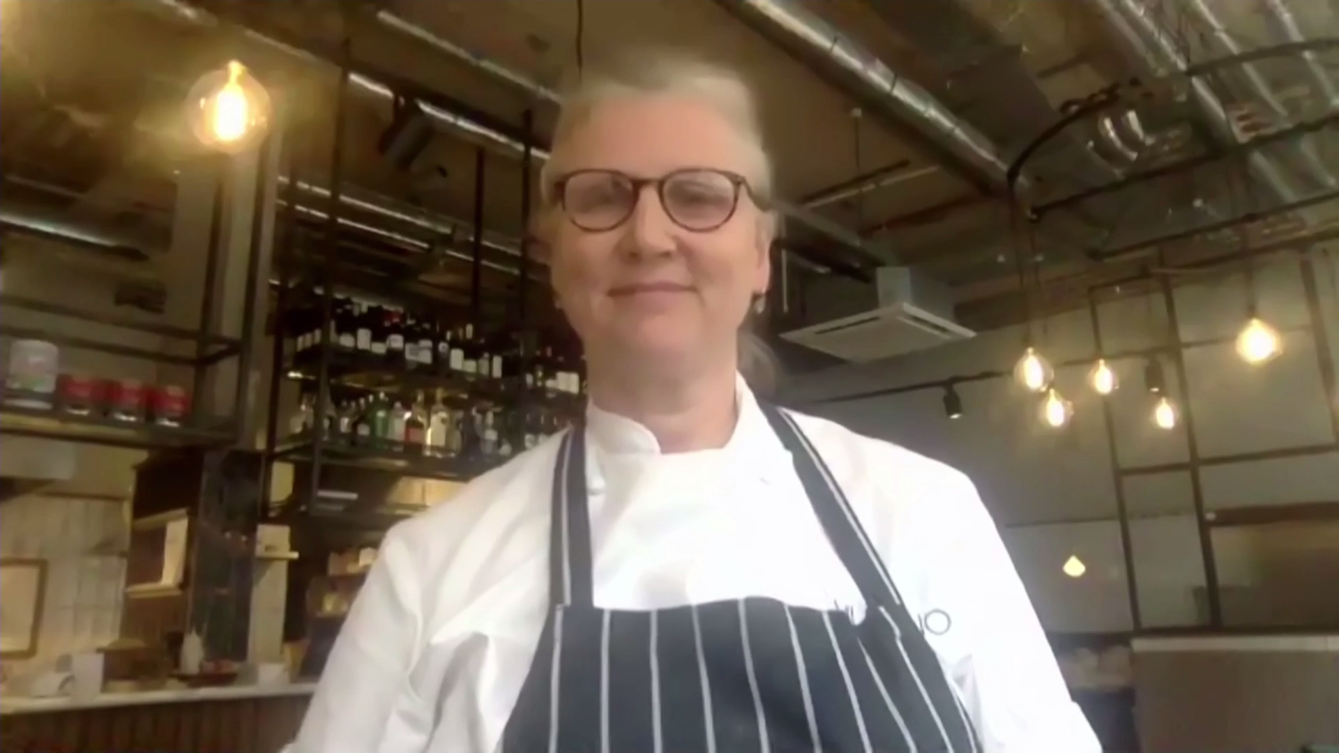 'For certain restaurants there has to be a stimulus package from the government' – chef Angela Hartnett - channel 4