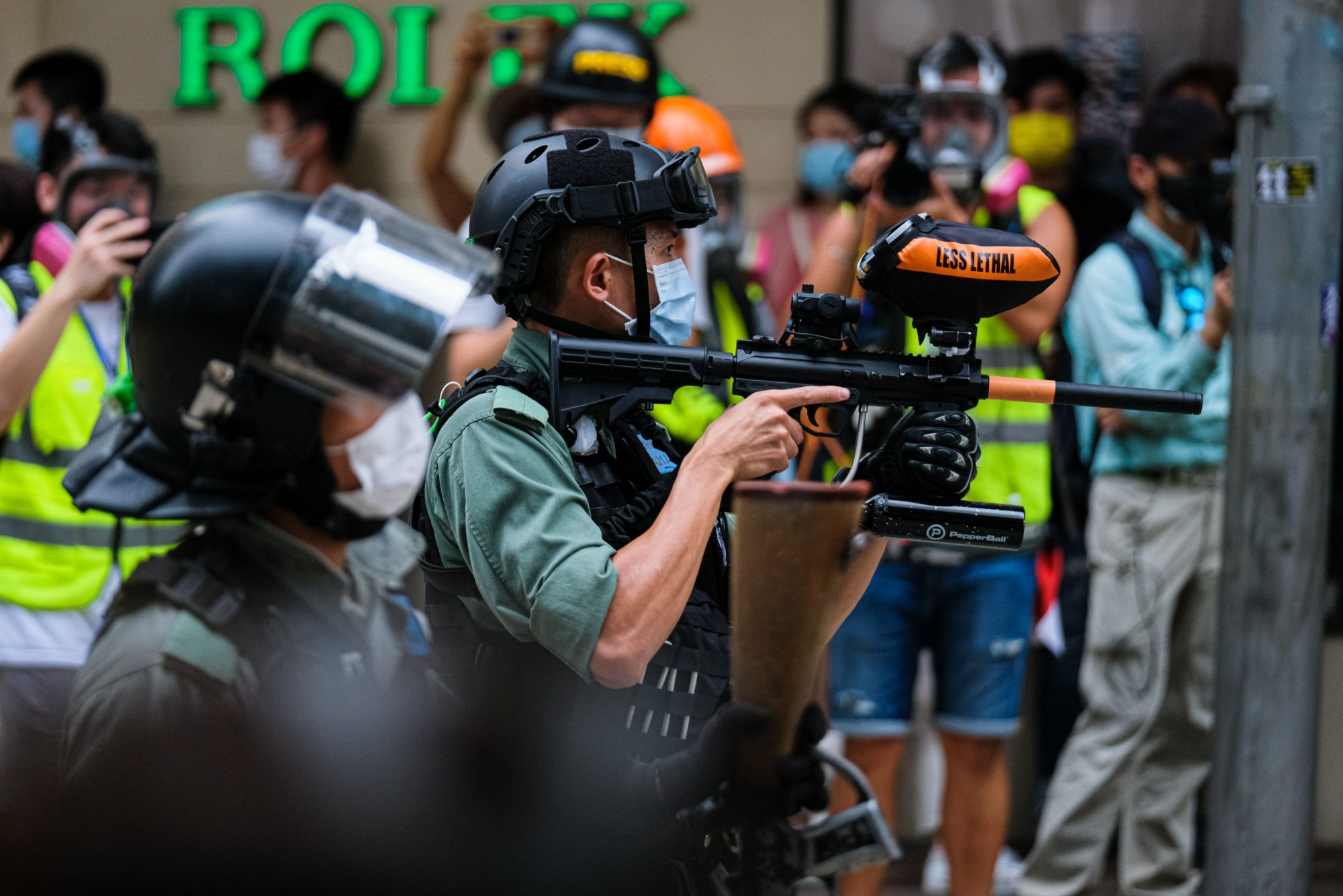 Hundreds arrested in Hong Kong protests as security law comes into effect - channel 4