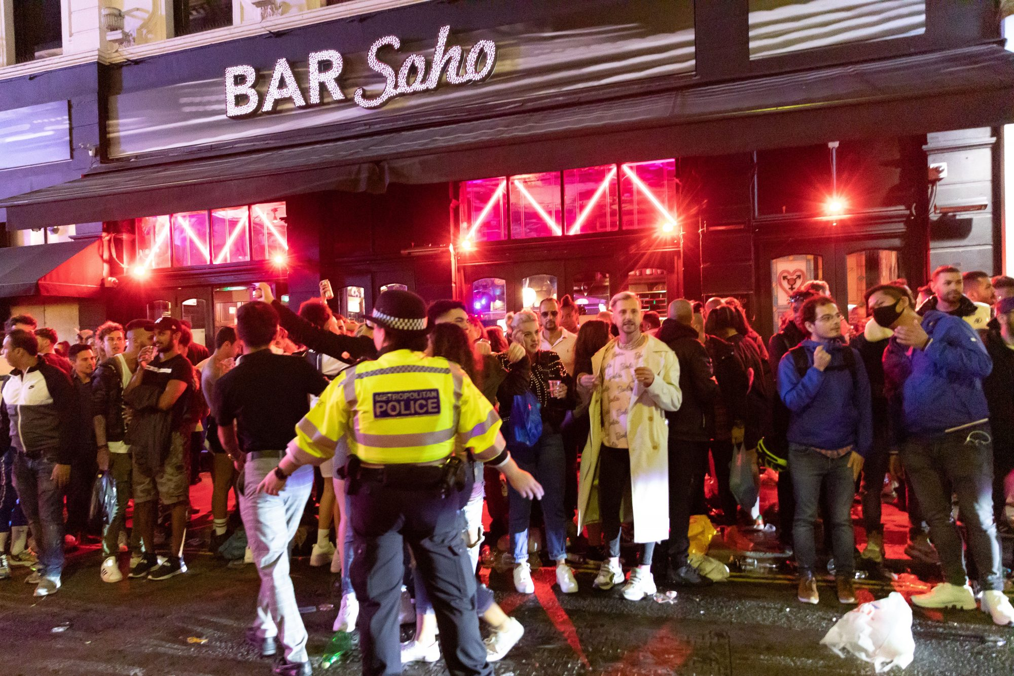 England's relaxed lockdown divides nation after revellers celebrate 'Super Saturday' - channel 4