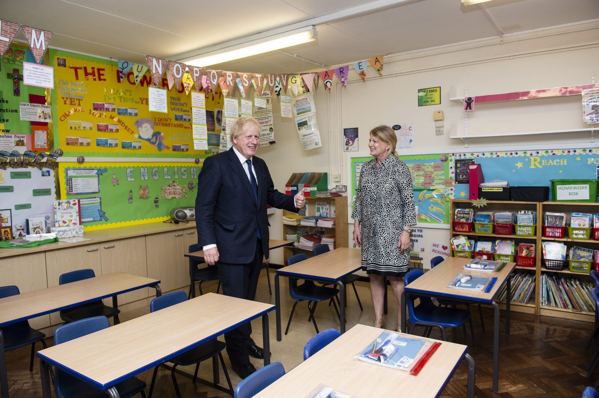Boris Johnson has 'no doubts' it's safe for children to go back to school - channel 4