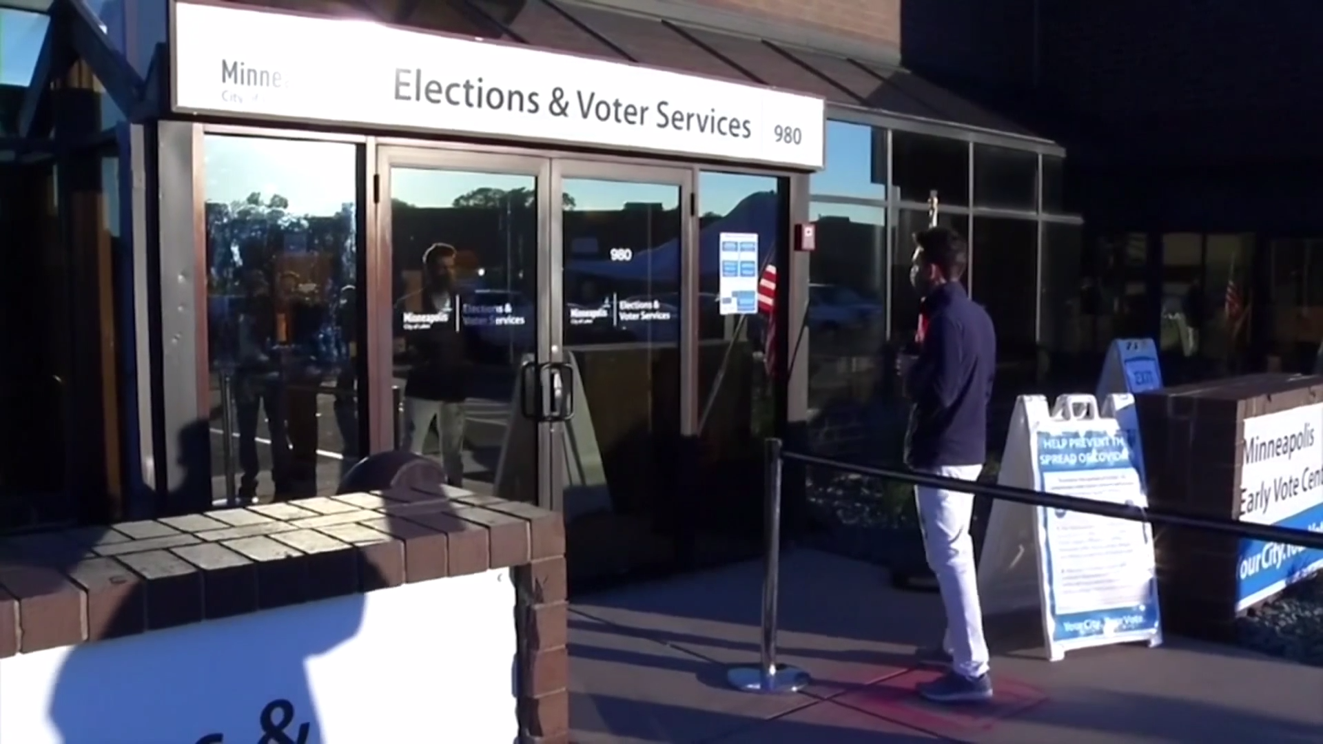First votes cast in US presidential election - channel 4