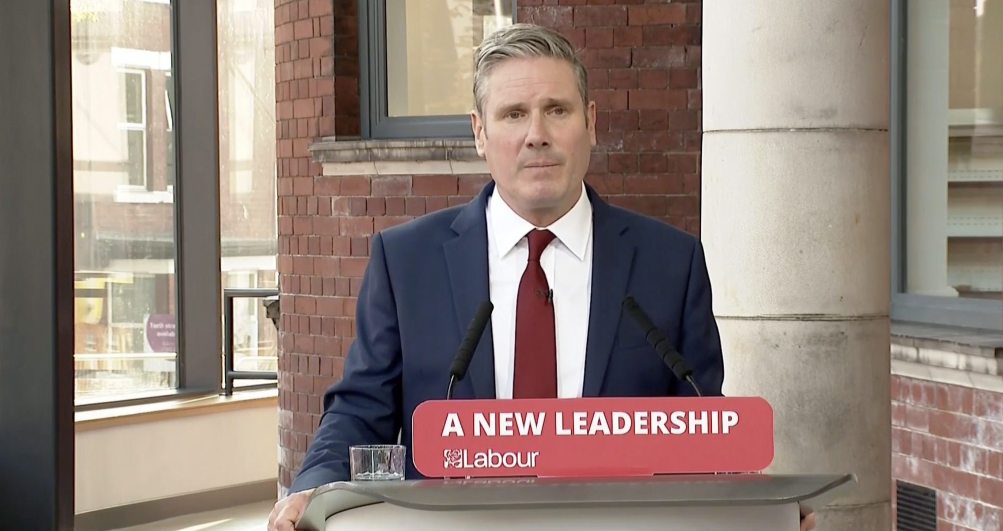 Starmer urges former Labour voters to return to fold in first conference speech as leader - channel 4