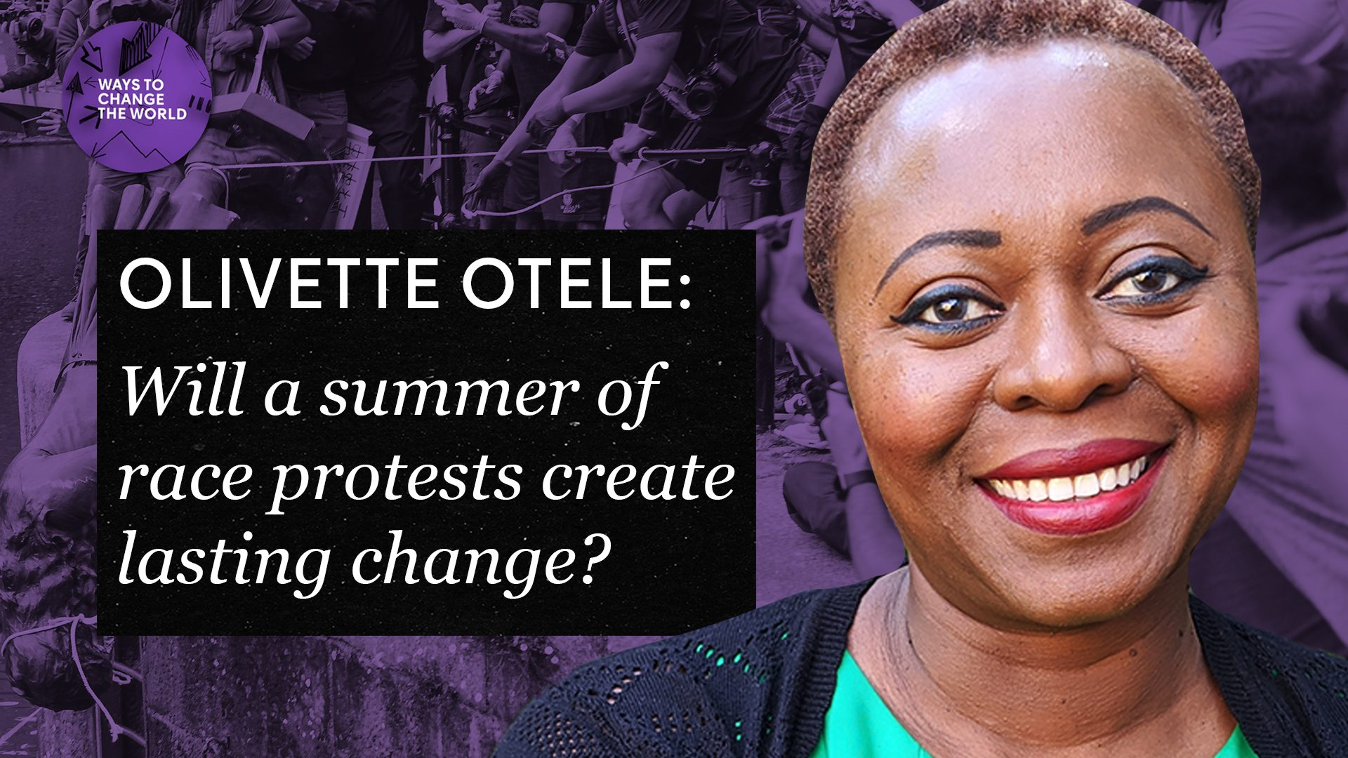 Series 6, Episode 9: Olivette Otele