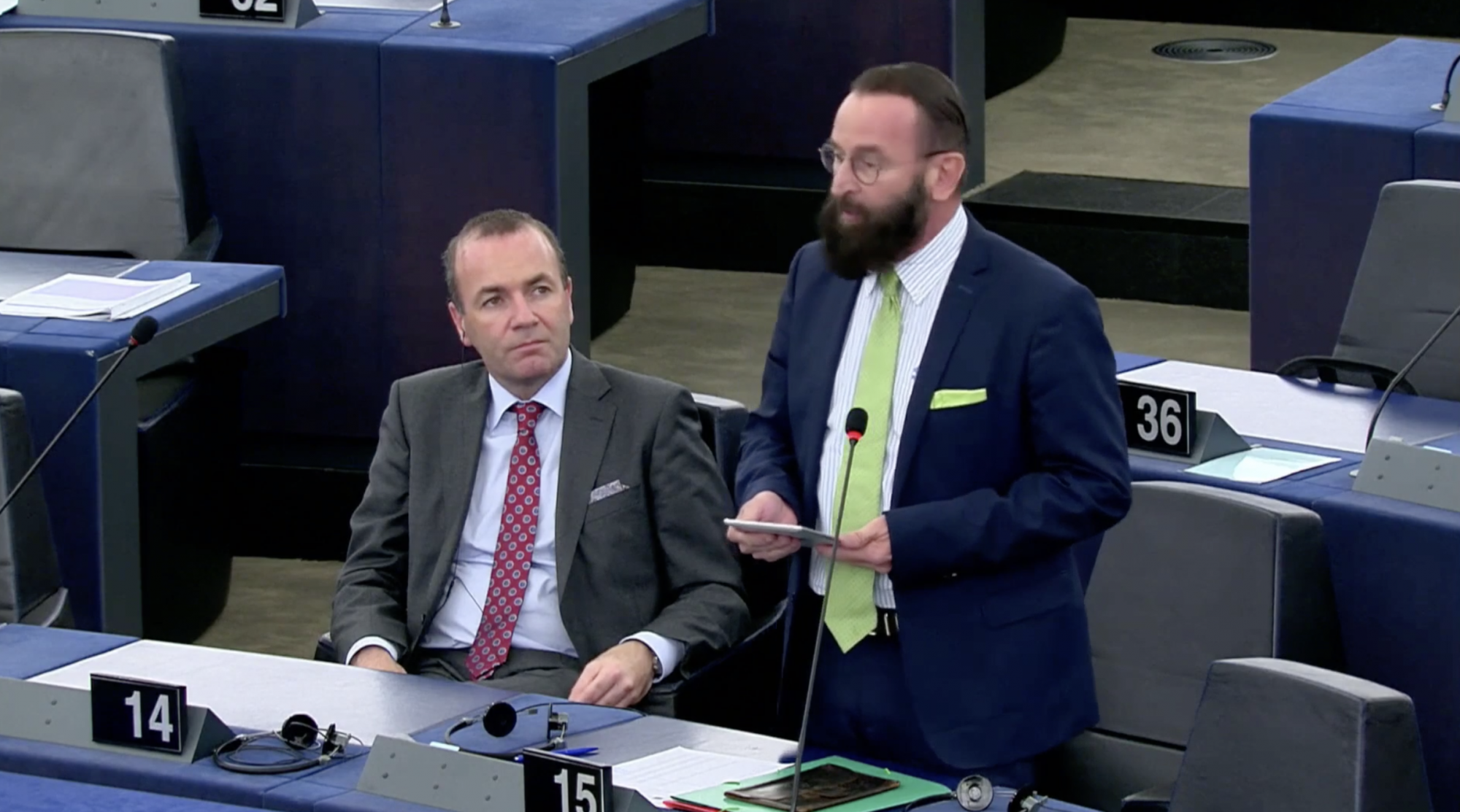 Far-right MEP resigns after attending an alleged sex party - channel 4