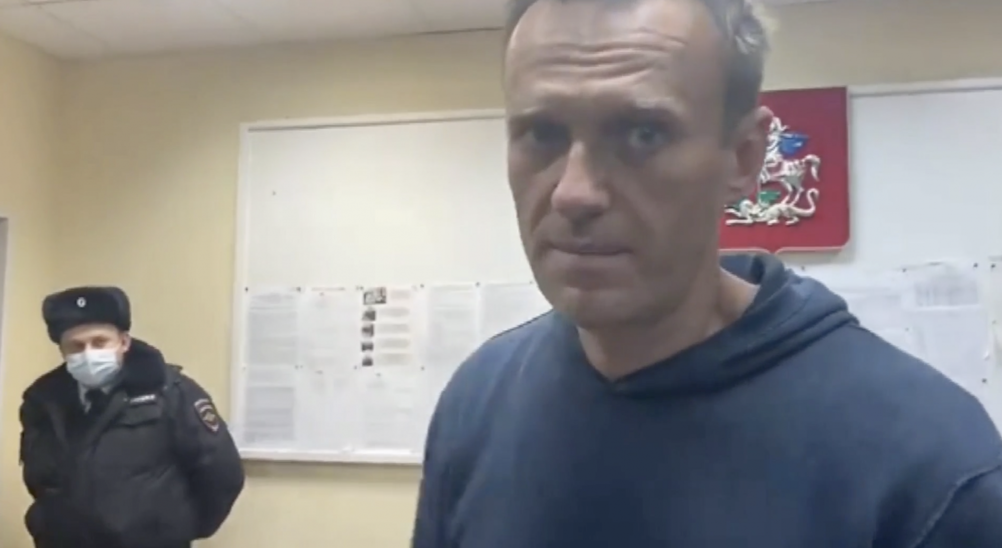 Russia opposition activist Alexei Navalny jailed for 30 days - channel 4