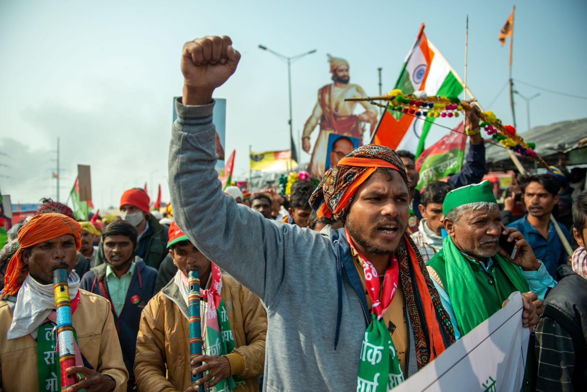 Violent protests as Indian farmers press Modi government's on agricultural reforms
