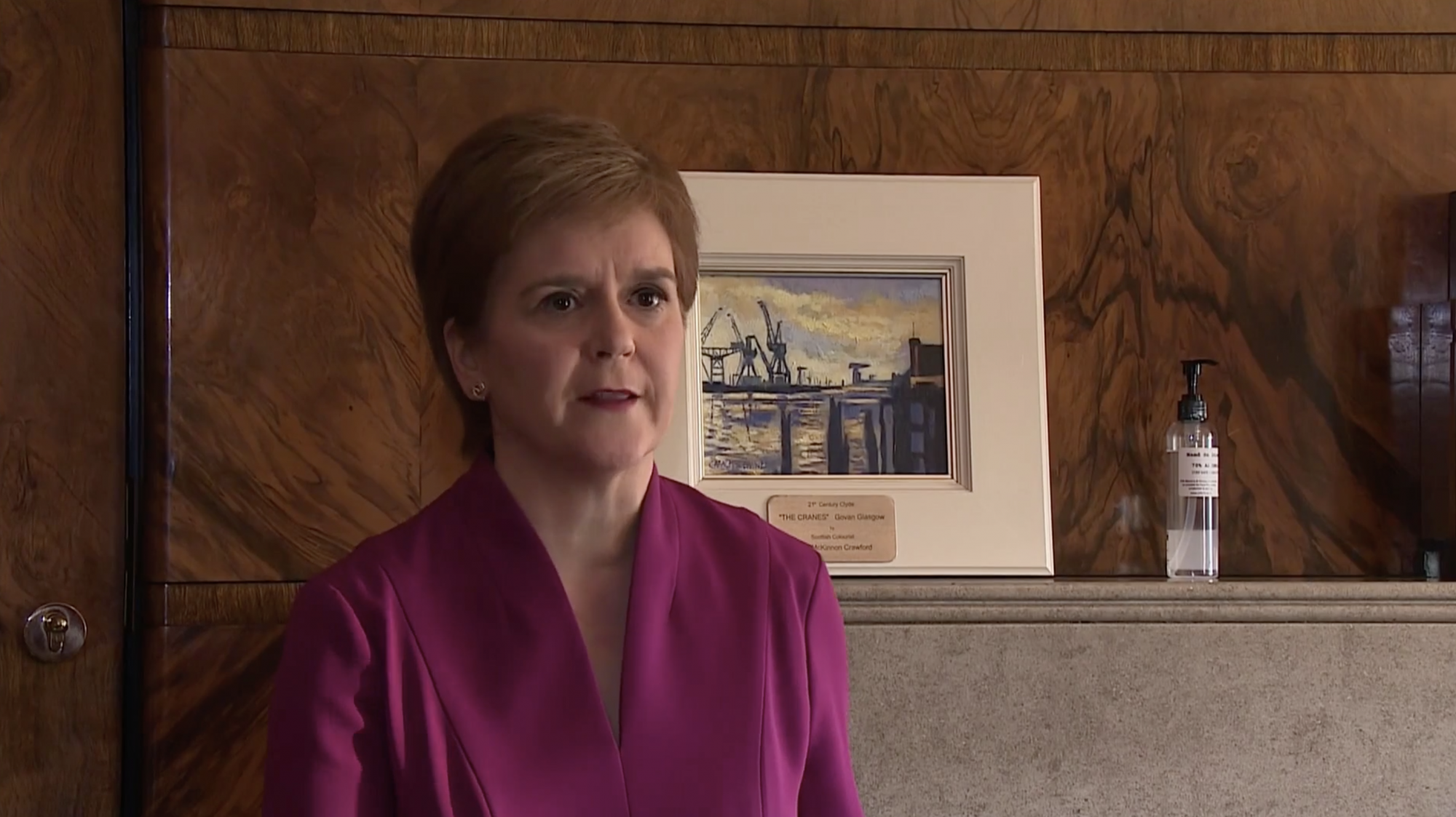 Sturgeon sets out 'cautious' Scotland release from lockdown