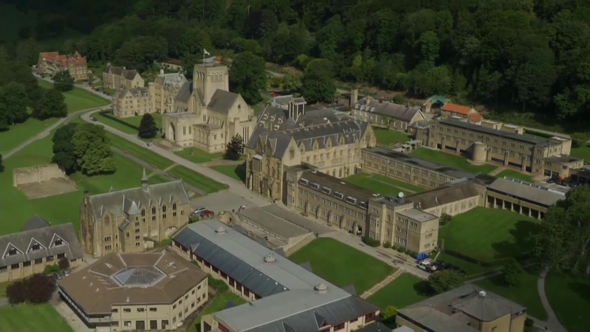 Ampleforth College faces questions over pupil safeguarding - channel 4