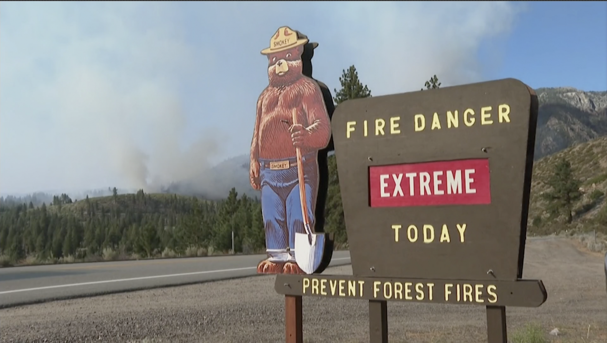 More than 80 wildfires are burning across America's north-west - channel 4