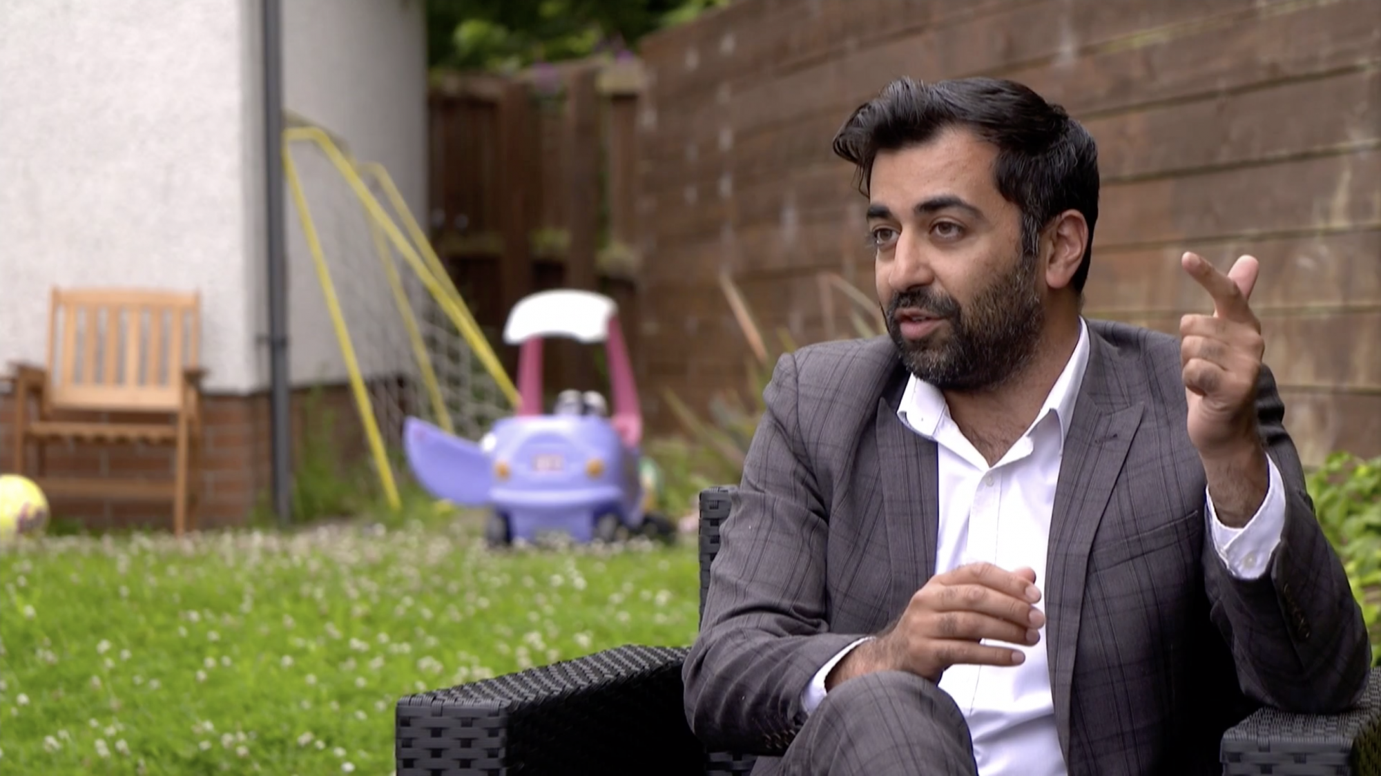 Scottish minister Humza Yousaf claims nursery discriminated against daughter - channel 4