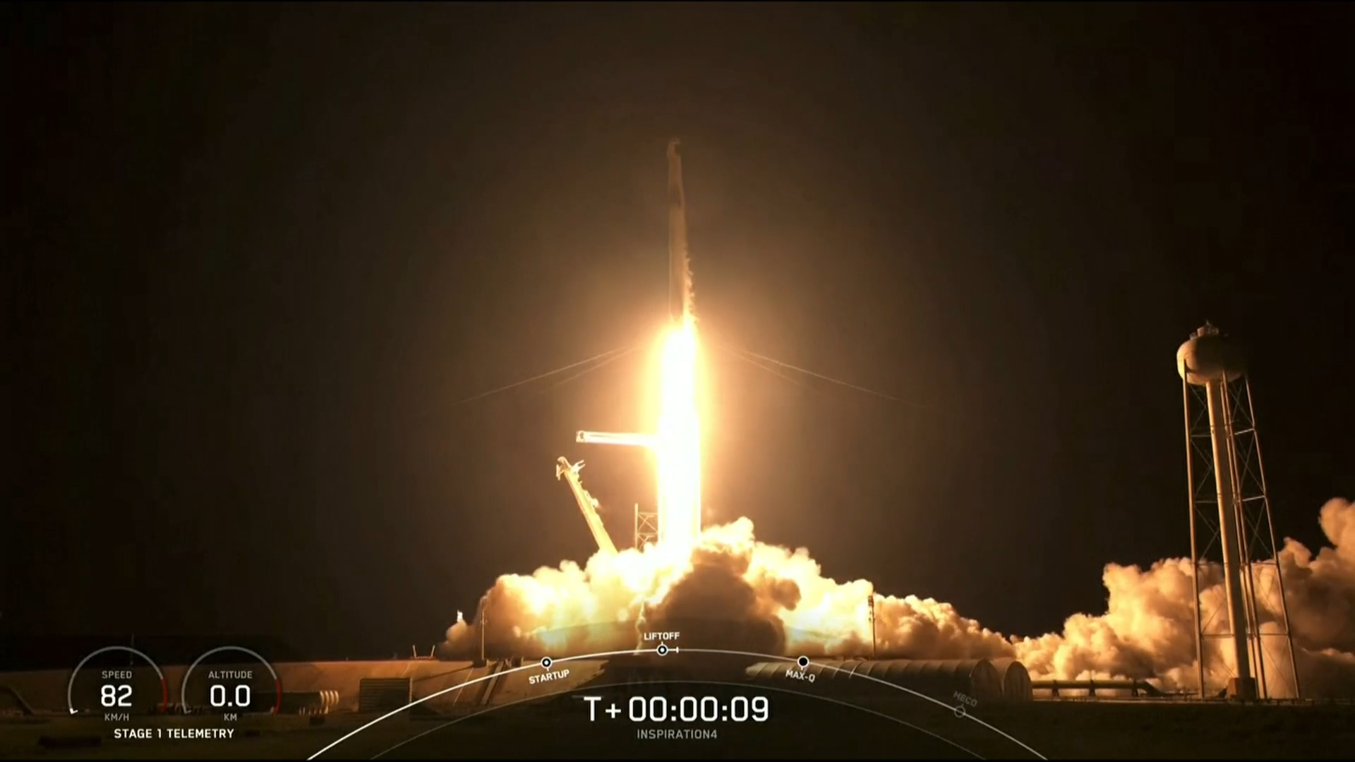 SpaceX launch makes history as four amateur astronauts orbit Earth - channel 4