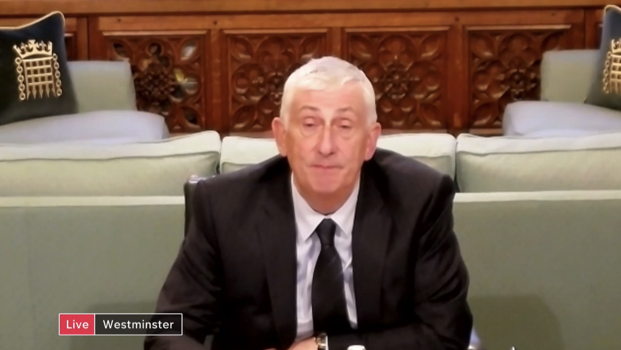 'We've got to protect the future of democracy' – Speaker Sir Lindsay Hoyle - channel 4